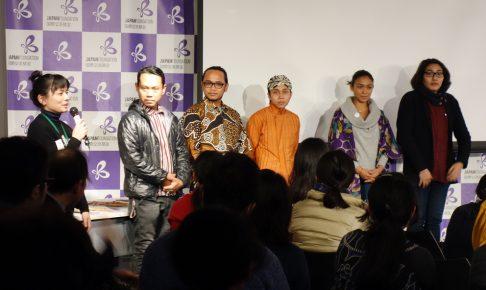 インドネシアアーティスト招へい事業